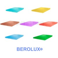 Сотовый поликарбонат Премиум 6 мм цветной