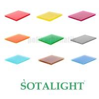 Сотовый поликарбонат Стандарт 10 мм цветной